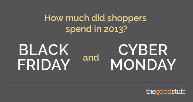 lack Friday Shopping Infographic