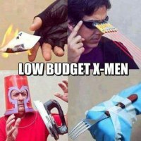 Low Budget X-Men