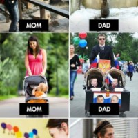 Moms Vs Dads
