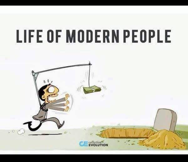 The Harsh Reality of Life and Society in Modern Times