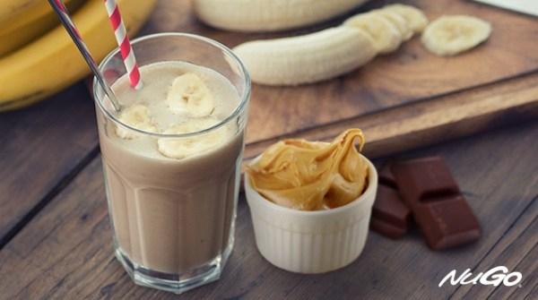 Chocolate Peanut Butter Milk Shake