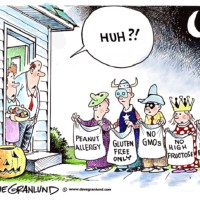 Trick Or Treat Nowadays