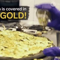 This $2000 Pizza Is Topped With Real Gold - Video