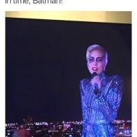Lady Gaga As The Bat Villain