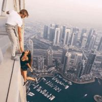 Stunning Russian Model Slammed for Death-Defying Photoshoot On Top Of The Building
