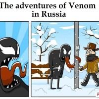 The Adventures Of Venom In Russia