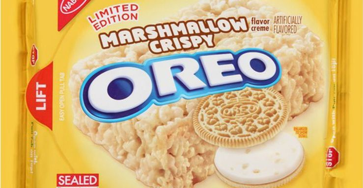 MARSHMALLOW CRISPY OREO COOKIES MIGHT BE MAKING A COMEBACK
