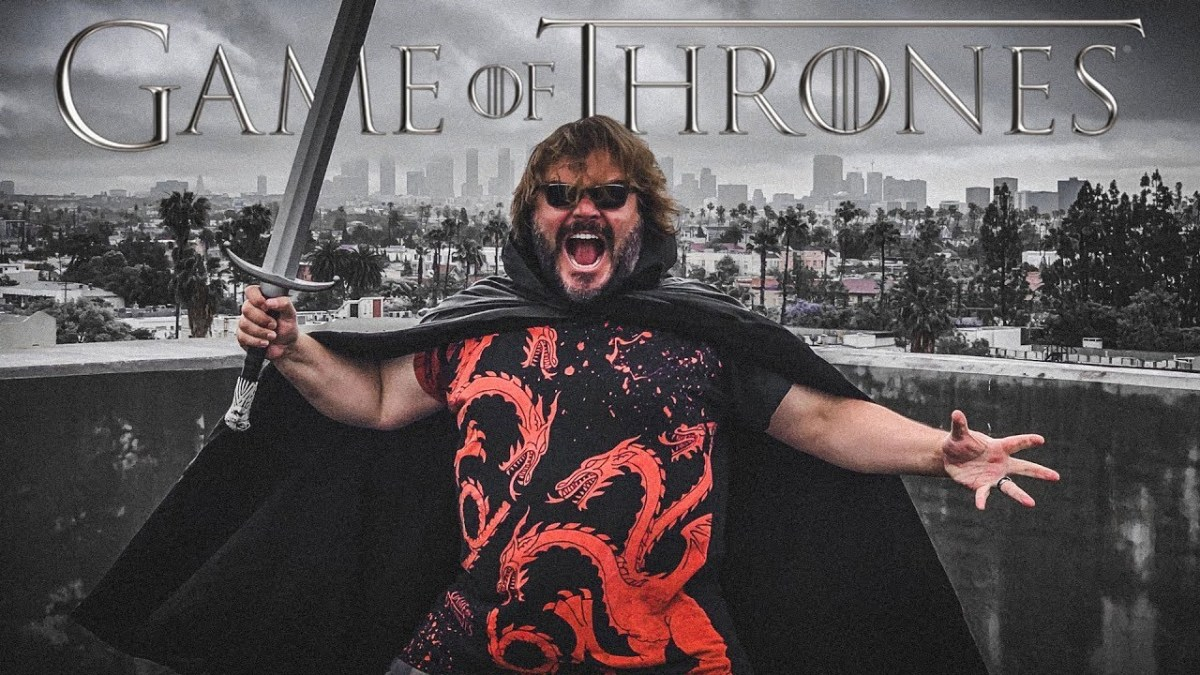 Celebrate Game of Thrones Last Episode Hype With Jack Black 'Singing' the Theme Song