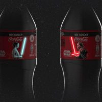 Coca-Cola OLED Illuminated Lightsaber Bottles
