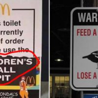 50 Funny Signs That Are Simply Hilarious