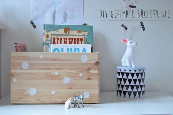 diy gepimpte b cherkiste stilles bunt. Black Bedroom Furniture Sets. Home Design Ideas