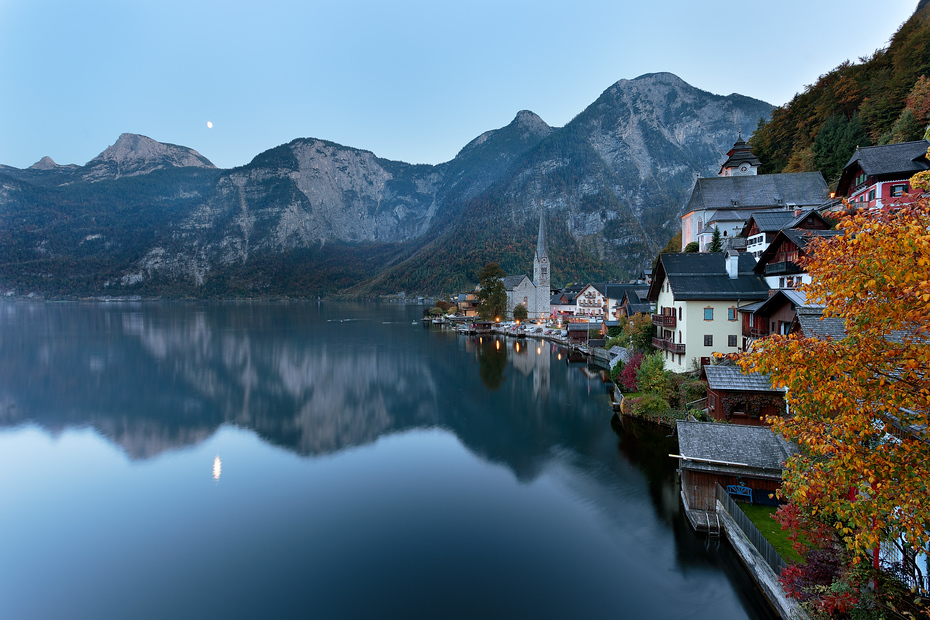 Evening in Hallstatt