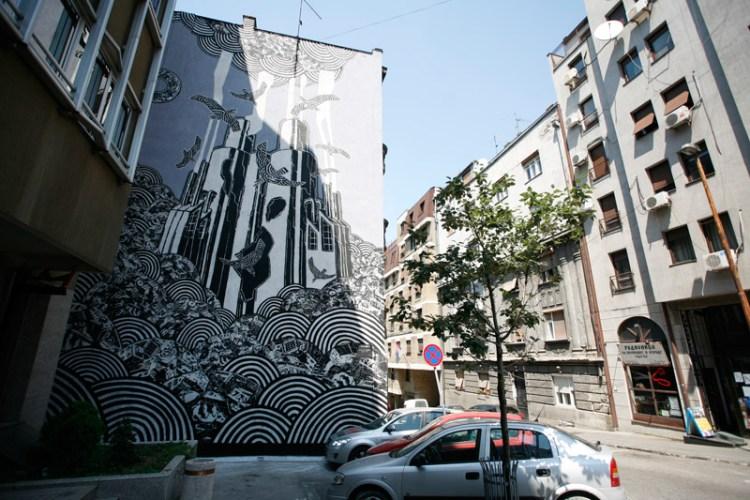 durmitorska 16 mural
