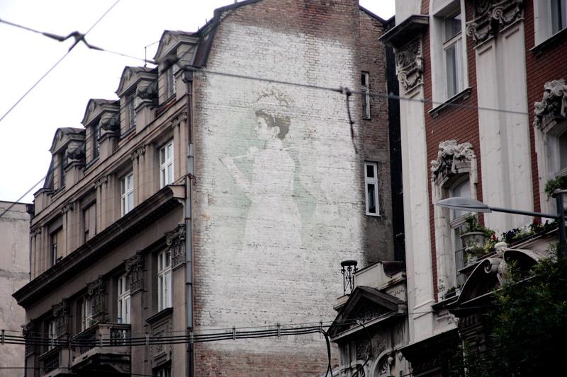 zgrada jugobanke mural