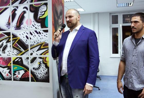 Darko Matijašević,  Executive Group, otvaranje druge postavke izložbe EGallery