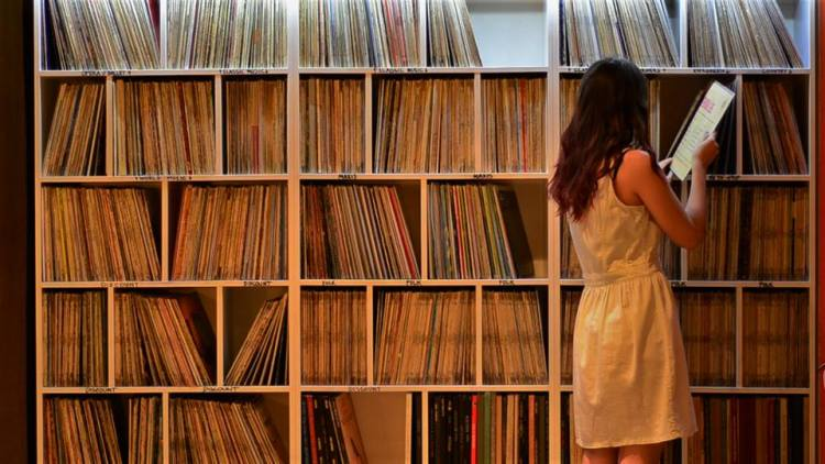 leila record store