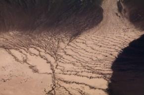 An erosion plain in Nevada