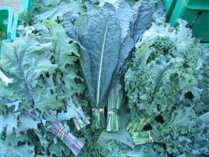 different types of kale