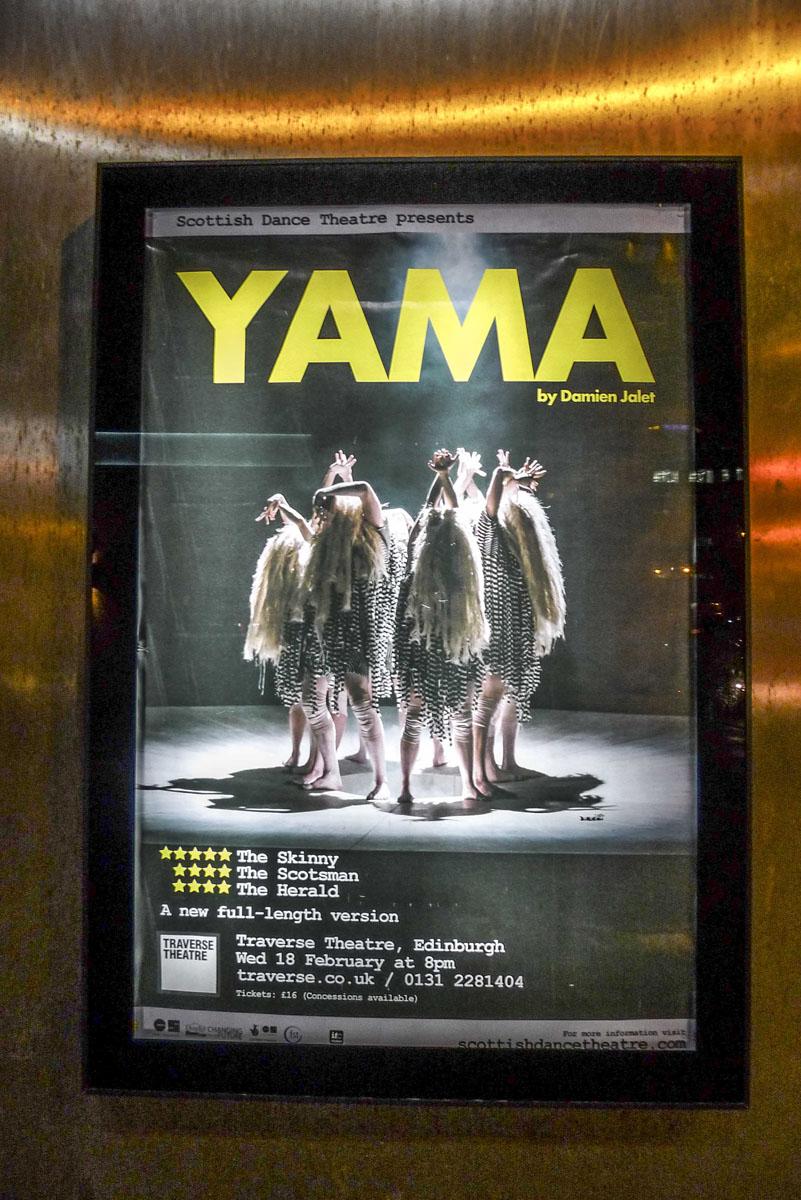 Scottish Dance Theatre performances in Edinburgh