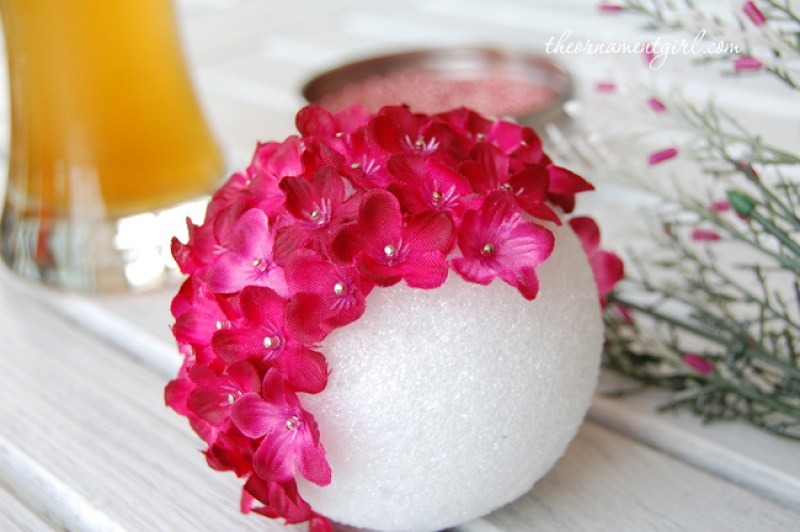 Craft Foam Pomander Flower