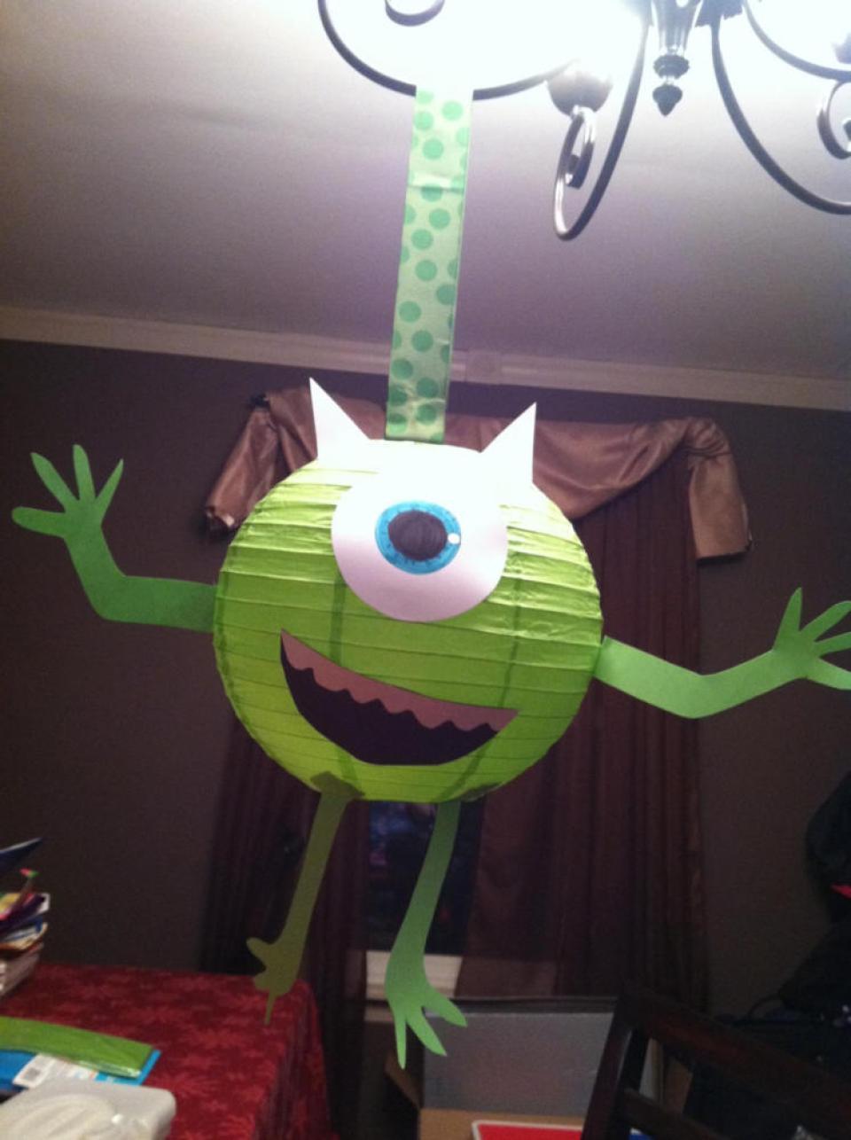 Crafts for boys: monstern lantern