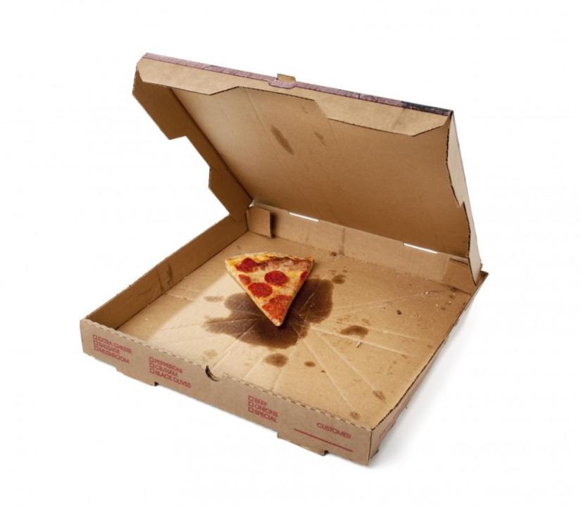 Non Recyclable Pizza Box