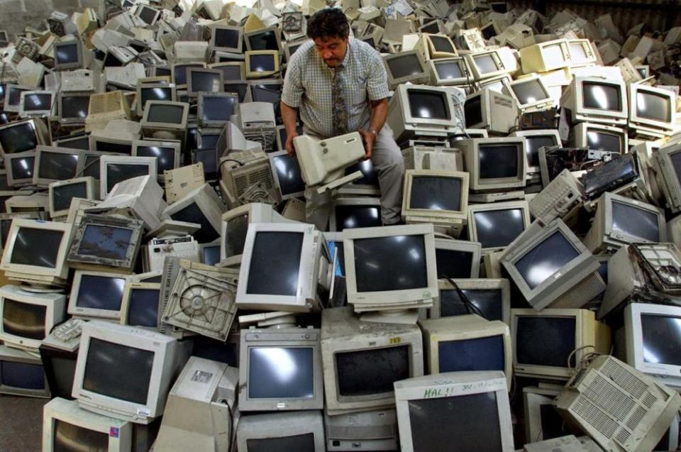 Recyclable items: computers
