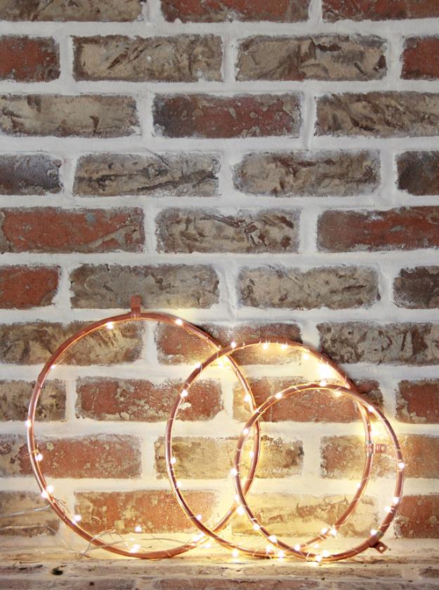 Craft Lights Copper Lighted