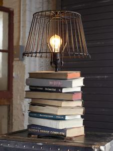 Craft Lights Stack Books Lamp