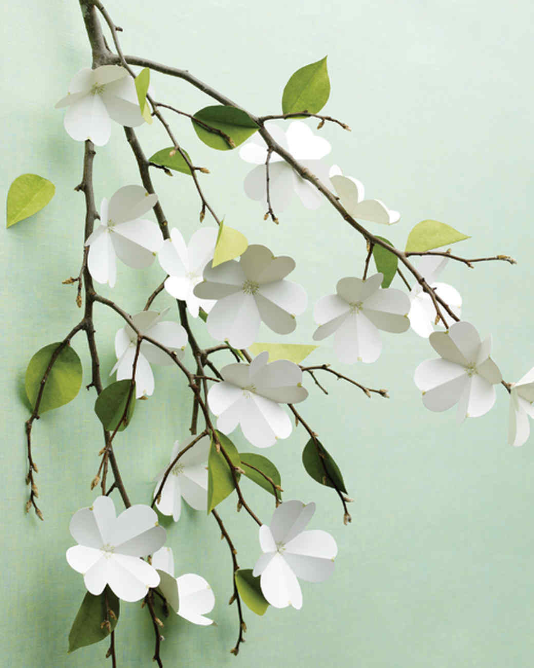 Craft paper dogwood flowers no more still craft paper flowers jeuxipadfo Gallery