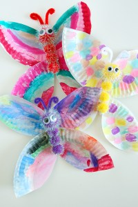Crafts for Girls Paper Plate