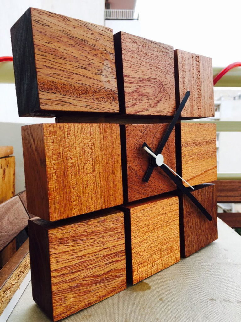 Wood Crafts Clock