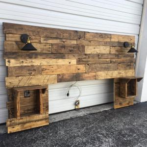 Wood Crafts Headboard