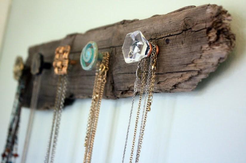 Wood Crafts Jewelry Hanger