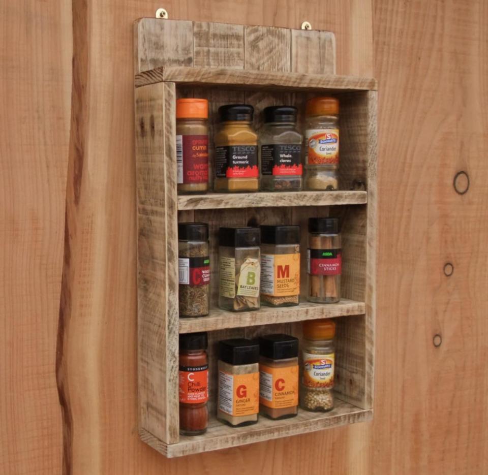 Wood Crafts Pallet Rack