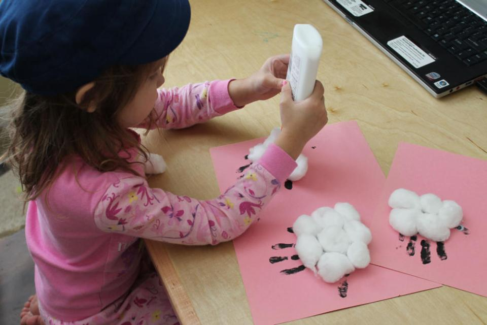 Crafts for Toddlers Lamb