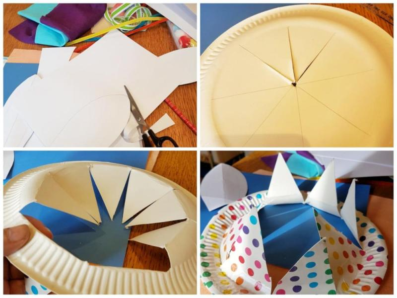Paper Plate Craft Hat