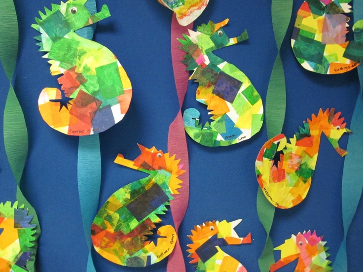 Paper Plate Craft Seahorse & paper-plate-craft-seahorse - No More Still