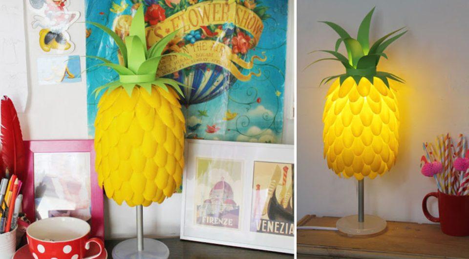 Simple Craft Lamp