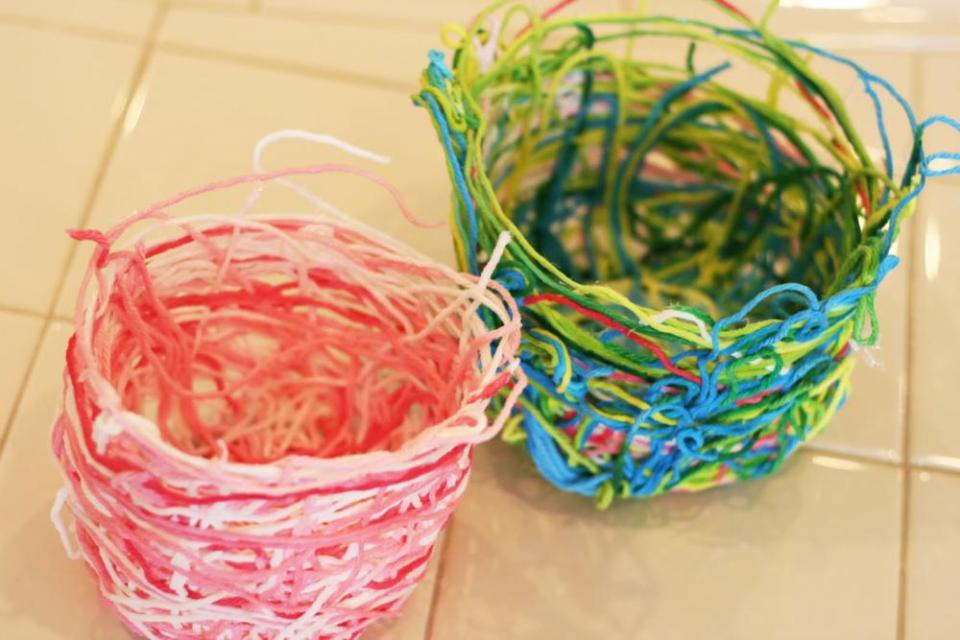 Simple Craft Baskets