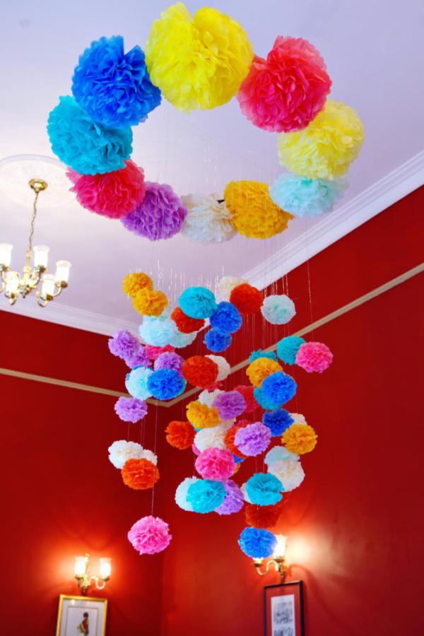Cool Crafts for Kids Chandelier
