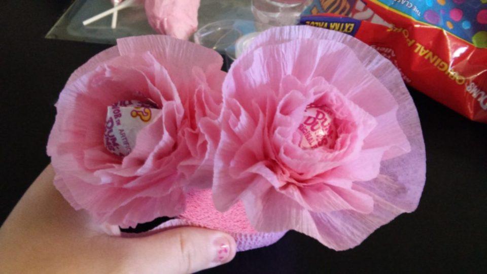 Spring Crafts Lollipop Flower