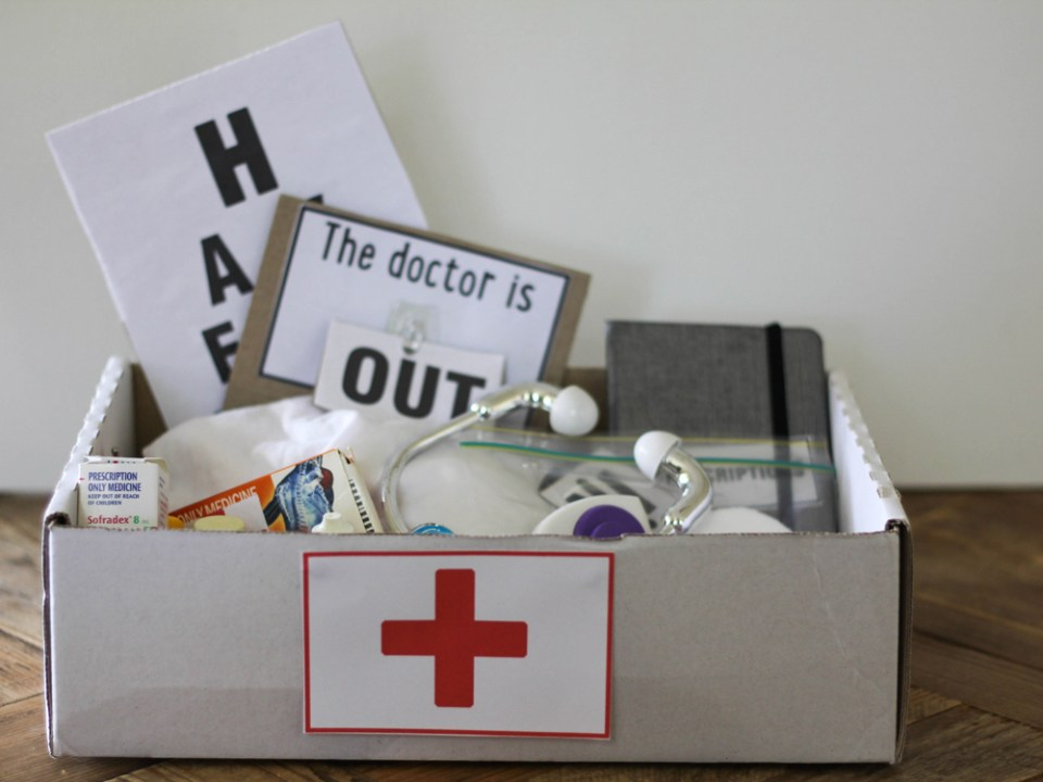 Craft Box Doctor's Kit