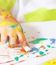 Craft Paint Finger Paint