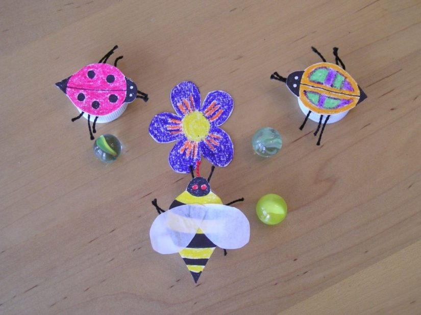 Summer Craft Bugs