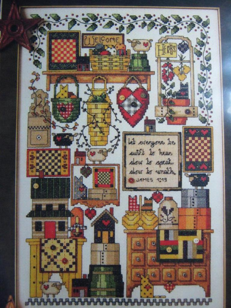 Cross Stitch for Beginners Country
