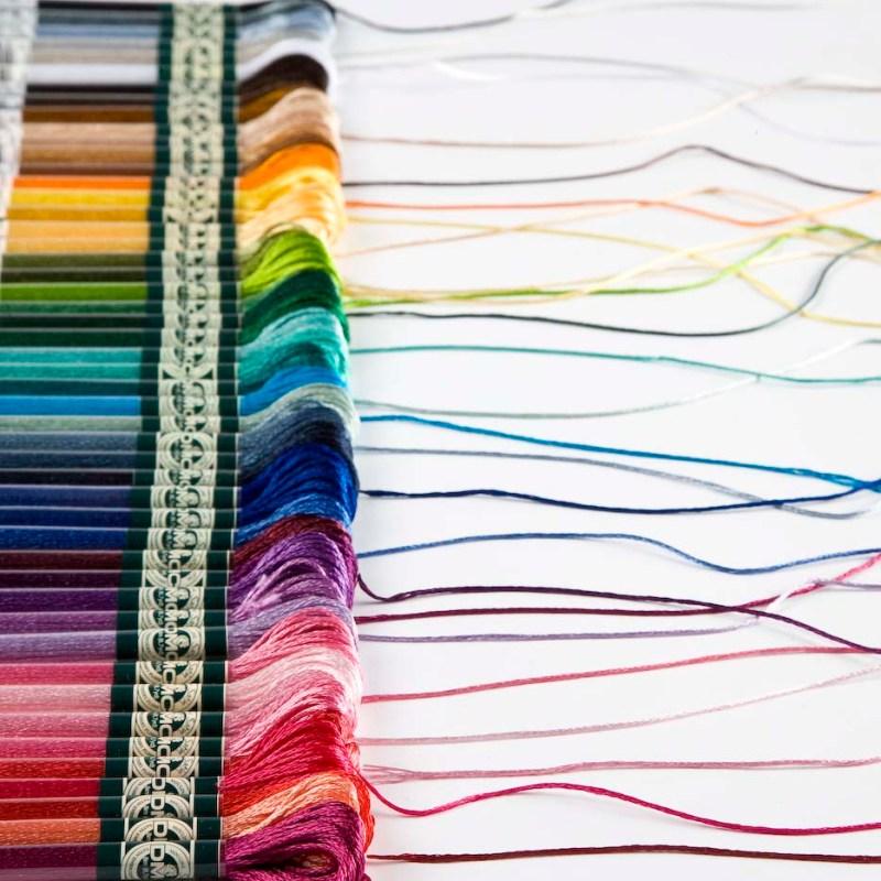 Cross Stitch for Beginners Floss