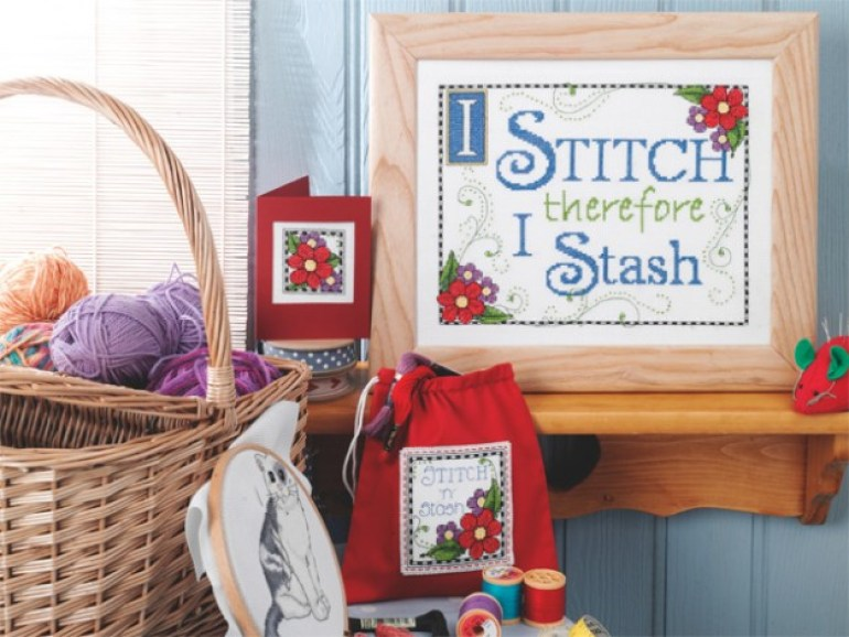 Cross Stitch for Beginners Stash