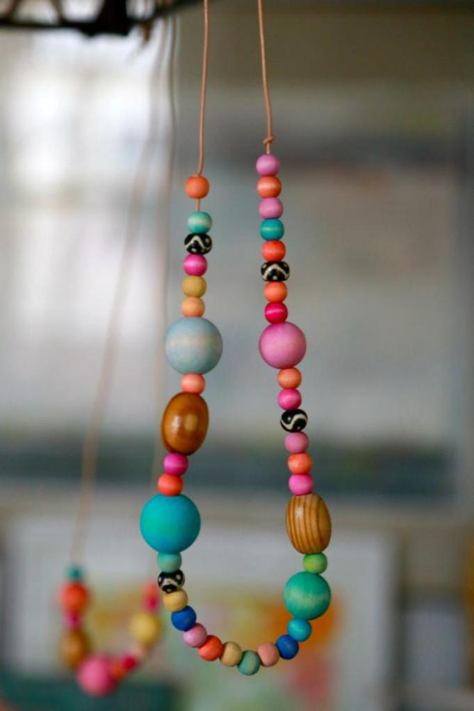 Wood Crafts for Kids Necklace
