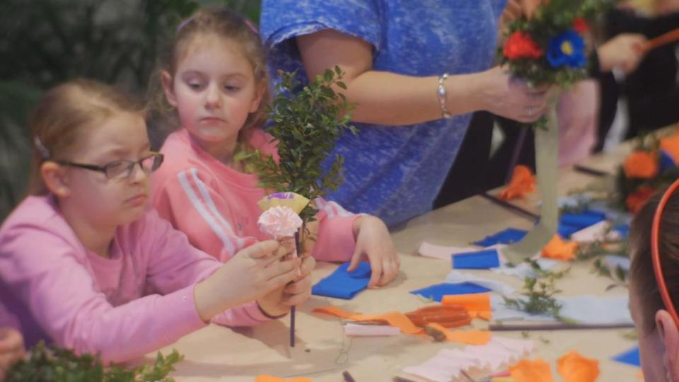 DIY Flowers for Kids
